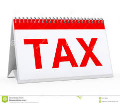 resources - Tax calender
